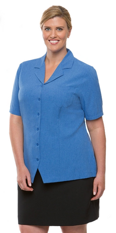 City Collection-City Collection Ezylin OverBlouse-6 / Ocean-Corporate Apparel Online - 1