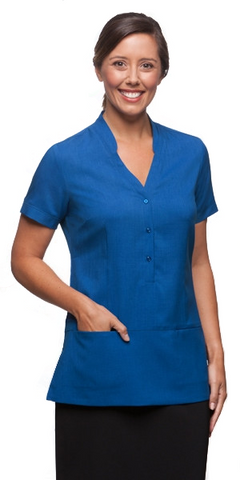 City Collection-City Collection Ezylin Tunic-6 / Royal-Corporate Apparel Online - 1