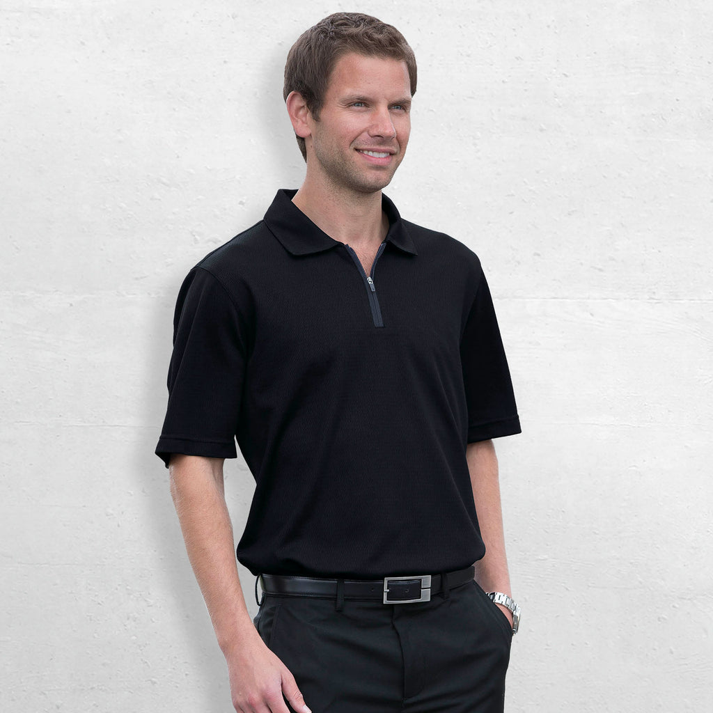 Gear For Life Gents Dri Gear Trimmed Polo (DGTP)