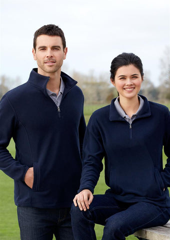 Biz Collection-Biz Collection Mens Trinity 1/2 Zip Pullover--Corporate Apparel Online - 1