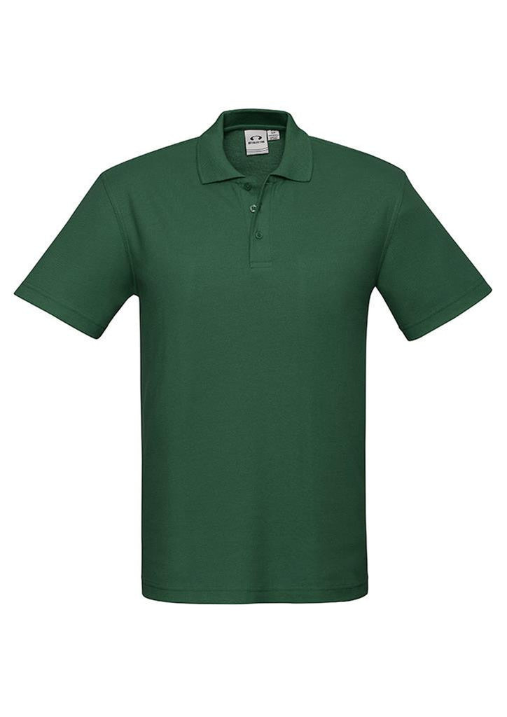 Biz Collection-Biz Collection Mens Crew Polo(1st 10 colours)-Forest / S-Corporate Apparel Online - 4