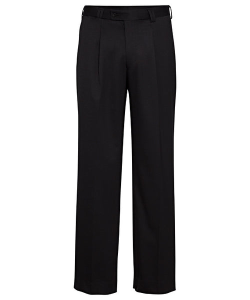 Bracks Wool Blend 1 Pleat Trouser (GLEBEDJ929)