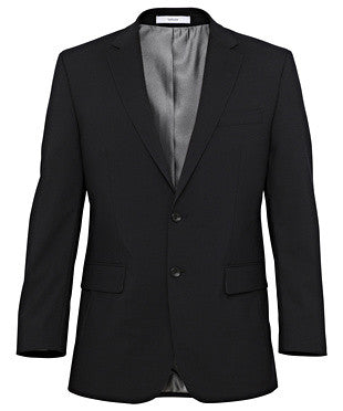 Van Heusen Stretch Wool Blend Plain Weave Suit Separate Jacket (BVCJM08)