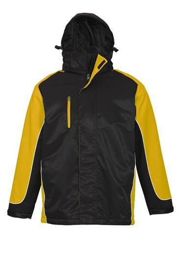 Biz Collection-Biz Collection Unisex Nitro Jacket-Black / Yellow / White / XS-Corporate Apparel Online - 4