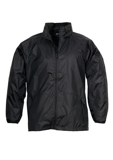 Biz Collection-Biz Collection Unisex Spinnaker Jacket-Black / Black / XS-Corporate Apparel Online - 2