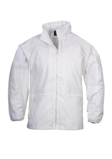 Biz Collection-Biz Collection Unisex Spinnaker Jacket-White / White / XS-Corporate Apparel Online - 5