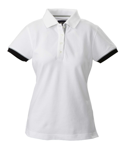James Harvest-James Harvest Antreville Ladies Polos-6 / WHITE-Corporate Apparel Online - 1