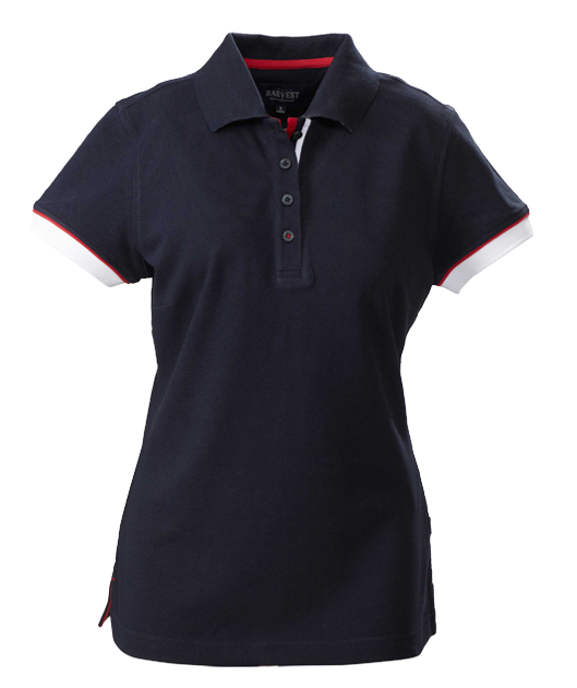 James Harvest-James Harvest Antreville Ladies Polos-6 / NAVY-Corporate Apparel Online - 3