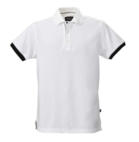 James Harvest-James Harvest Anderson Gents Polos-S / WHTE-Corporate Apparel Online - 1