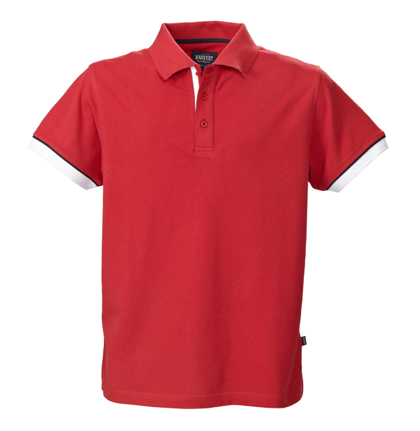 James Harvest-James Harvest Anderson Gents Polos-S / RED-Corporate Apparel Online - 2