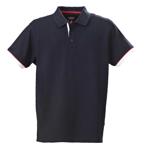 James Harvest-James Harvest Anderson Gents Polos-S / NAVY-Corporate Apparel Online - 3