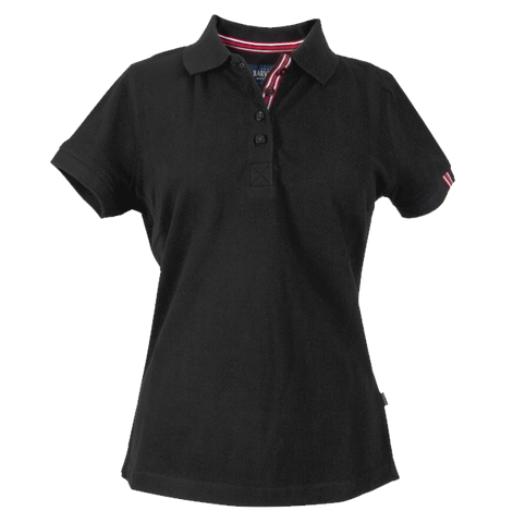 James Harvest-James Harvest Avon Ladies Polos-6 / BLACK-Corporate Apparel Online - 1