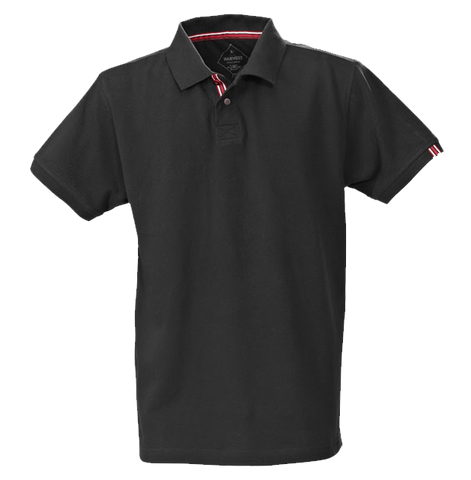 James Harvest-James Harvest Avon Gents Polos-S / BLACK-Corporate Apparel Online - 1