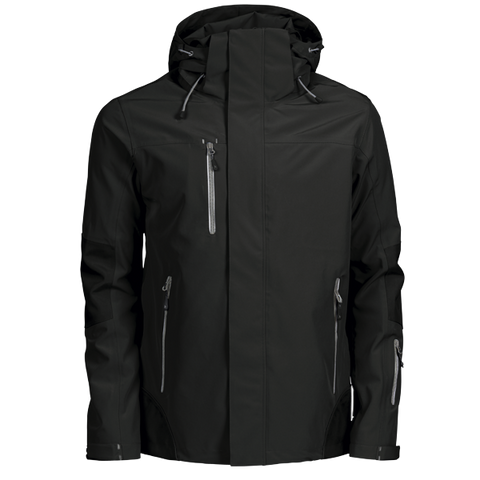 James Harvest-James Harvest Islandblock Gents Jackets-S / BLACK-Corporate Apparel Online - 1
