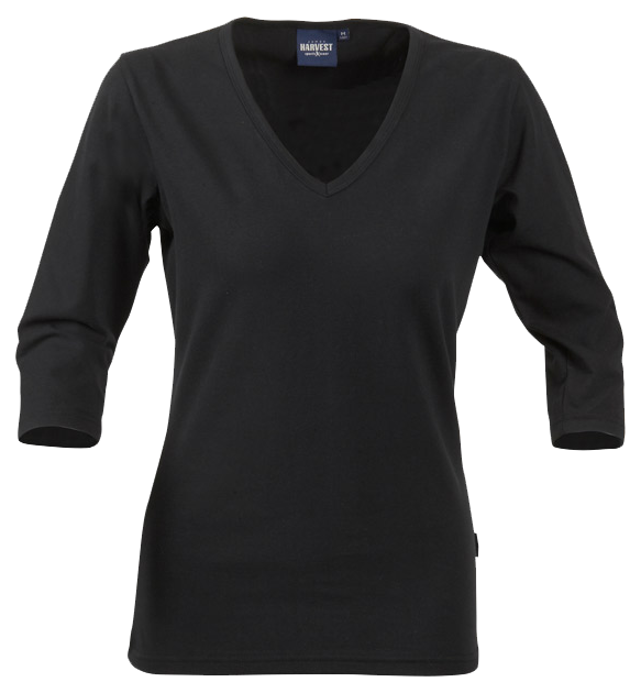 James Harvest-James Harvest Lynn Ladies Top-8 / BLACK-Corporate Apparel Online - 1
