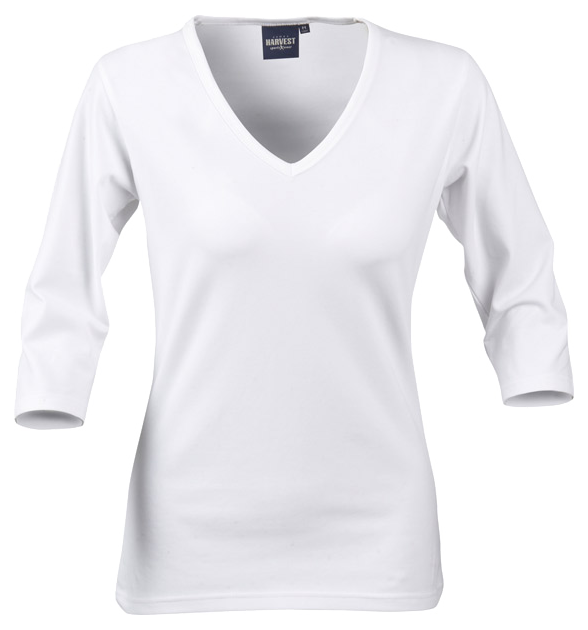 James Harvest-James Harvest Lynn Ladies Top-8 / WHITE-Corporate Apparel Online - 2