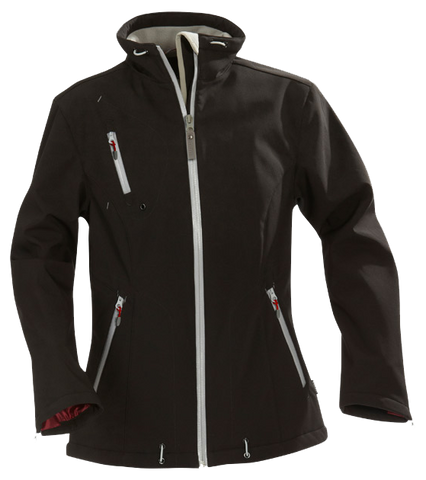 James Harvest-James Harvest Savannah Ladies Jackets-8 / Black-Corporate Apparel Online - 1