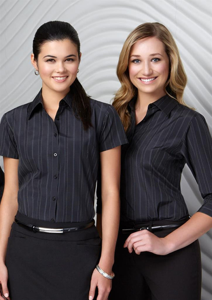 Biz Collection-Biz Collection Ladies New Yorker Shirt-S/S--Corporate Apparel Online - 1