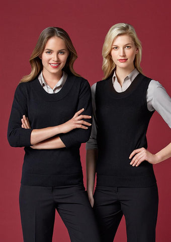 Biz Collection-Biz Collection Ladies 80/20 Wool-Rich Pullover--Corporate Apparel Online - 1