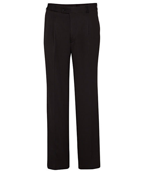 Bracks Easy Care Poly Viscose 1 Pleat Trouser (MOLG04421)