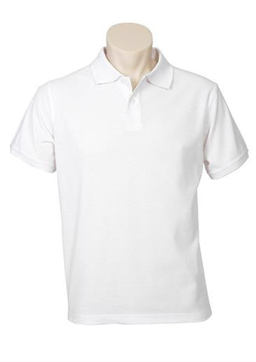 Biz Collection-Biz Collection Mens Neon Polo-White / Small-Corporate Apparel Online - 2
