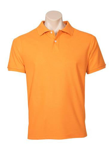 Biz Collection-Biz Collection Mens Neon Polo-Orange / Small-Corporate Apparel Online - 8