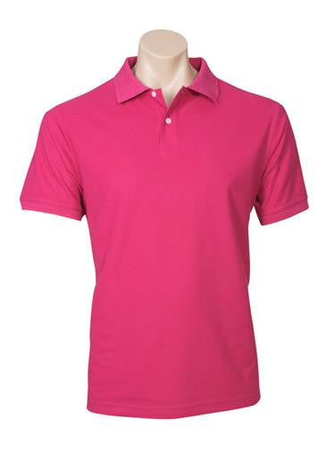 Biz Collection-Biz Collection Mens Neon Polo-Magenta / Small-Corporate Apparel Online - 6