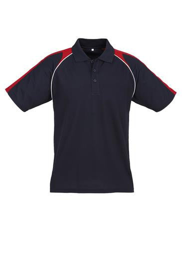 Biz Collection-Biz Collection Mens Triton Polo-Navy / Red / White / S-Corporate Apparel Online - 8