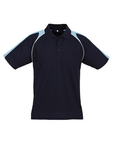 Biz Collection-Biz Collection Mens Triton Polo-Navy / Spring Blue / White / S-Corporate Apparel Online - 9