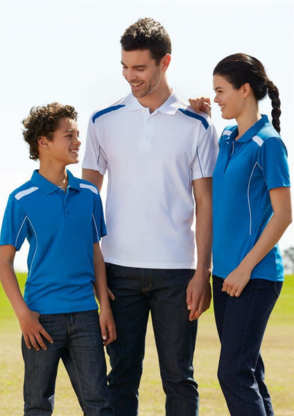 Biz Collection Mens United Short Sleeve Polo 1st ( 9 Colour )
