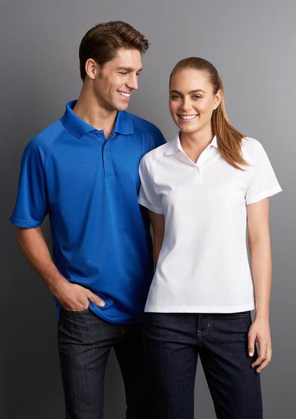 Biz Collection Sprint Mens BizCool Polo