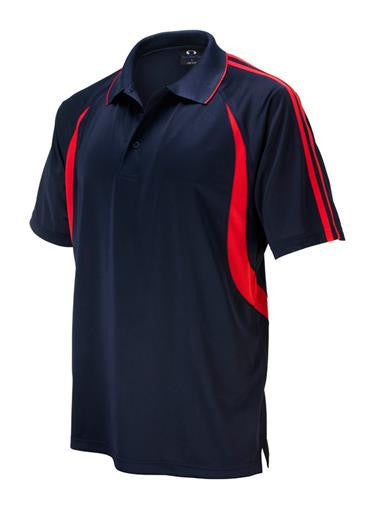 Biz Collection-Biz Collection Mens  Flash Polo 2nd ( 6 Colour )-Navy / Red / Small-Corporate Apparel Online - 5