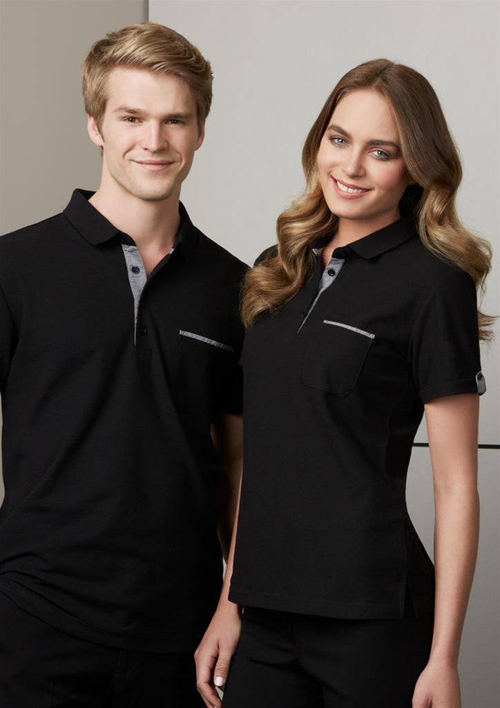 Biz Collection-Biz Collection Edge Mens Polo--Corporate Apparel Online - 2