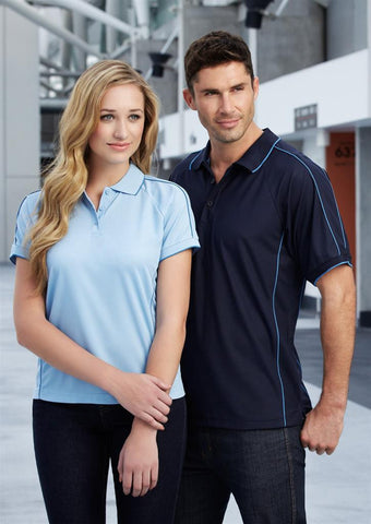 Biz Collection-Biz Collection Mens Resort Polo--Corporate Apparel Online - 1