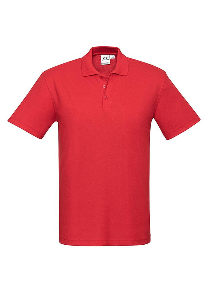 Biz Collection-Biz Collection Mens Crew Polo(1st 10 colours)-Red / S-Corporate Apparel Online - 7