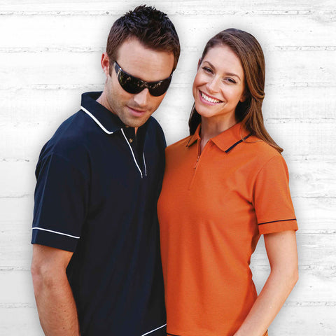 Gear For Life Womens Retro Waffle Polo(2nd 10 Colours) (WRWP)