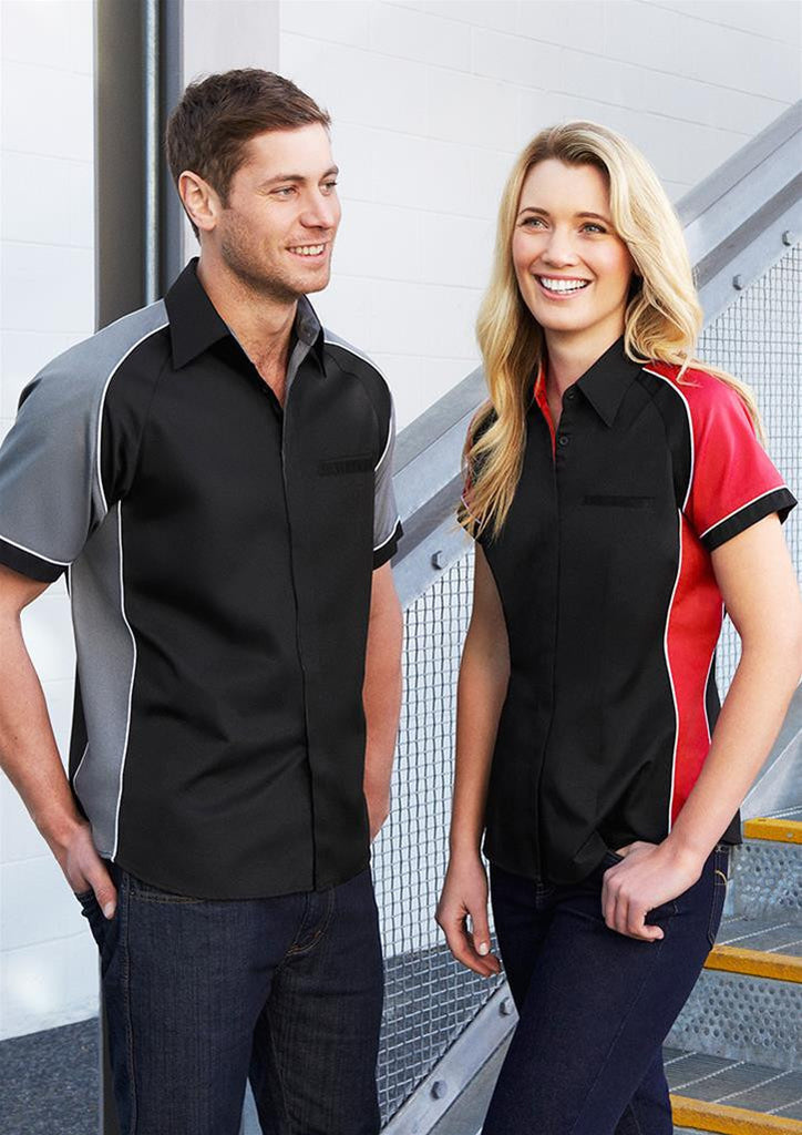 Biz Collection-Biz Collection Mens Nitro Shirt--Corporate Apparel Online - 3