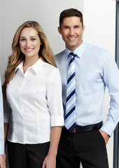 Biz Collection-Biz Collection Mens Luxe Long Sleeve Shirt--Corporate Apparel Online - 1