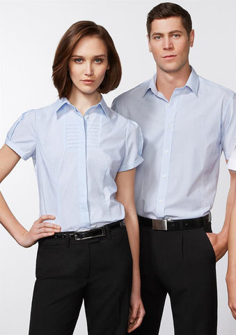 Biz Collection-Biz Collection Ladies Berlin Short Sleeve Shirt--Corporate Apparel Online - 1