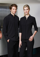 Biz Collection-Biz Collection Ladies Quay 3/4 Sleeve Shirt--Corporate Apparel Online - 4