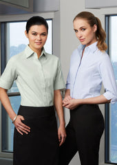 Biz Collection-Biz Collection Ladies Ambassador Shirt-3/4 Sleeve--Corporate Apparel Online - 1