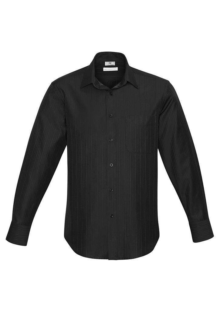Biz Collection-Biz Collection Preston Mens Long Sleeve Shirt--Corporate Apparel Online - 1