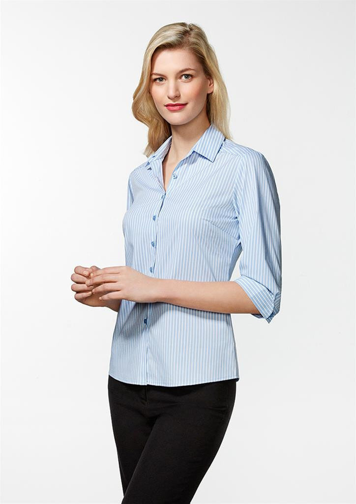Biz Collection-Biz Collection Ladies Zurich 3/4 Shirt--Corporate Apparel Online - 1