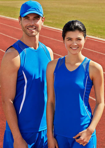 Biz Collection-Biz Collection Mens Razor Singlet--Corporate Apparel Online - 1