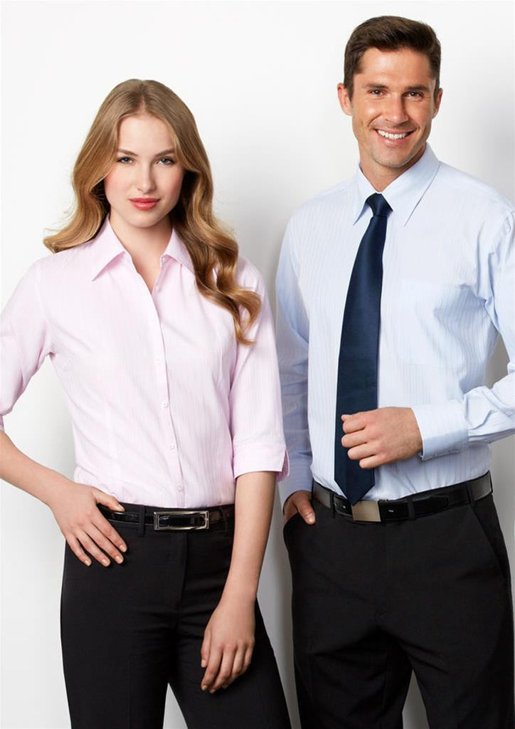 Biz Collection-Biz Collection Ladies Boston 3/4 Sleeve Shirt--Corporate Apparel Online - 1