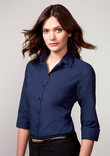 Biz Collection-Biz Collection Verve Ladies 3/4 Sleeve Shirt--Corporate Apparel Online - 1