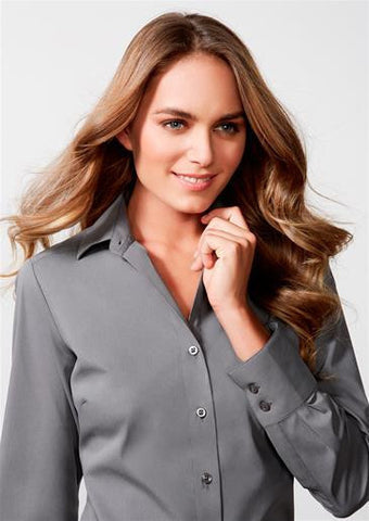 Biz Collection-Biz Collection Verve Ladies Long Sleeve Shirt--Corporate Apparel Online - 1