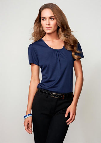 Biz Collection-Biz Collection Ladies Chic Top--Corporate Apparel Online - 4
