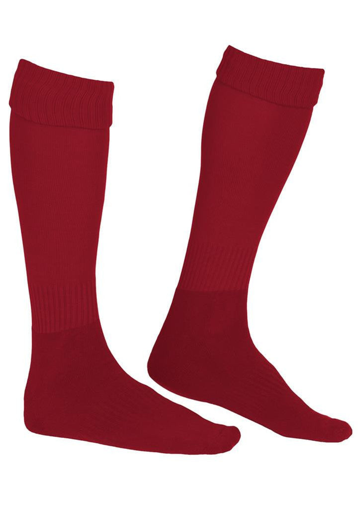Biz Collection-Biz Collection Unisex Team Socks-Red / S-Corporate Apparel Online - 4