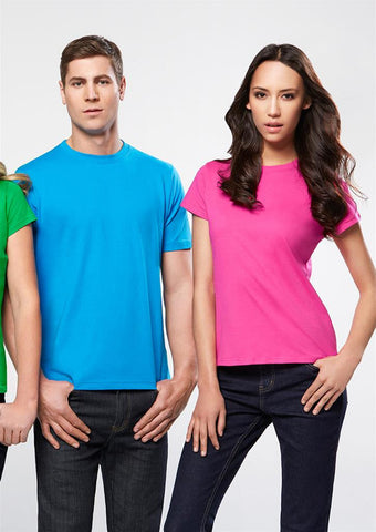 Biz Collection-Biz Collection Ladies Ice Tee 3rd  ( 3 Colour )--Corporate Apparel Online - 2